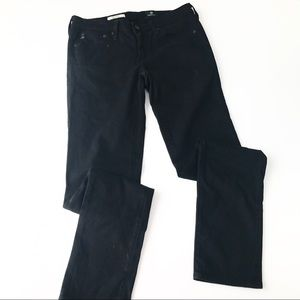 AG Black The Stilt Skinny Cigarette Jean LL9
